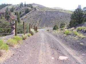 Road at the top of Dotsero