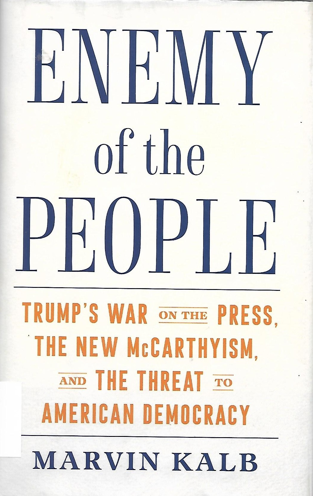 Enemy of the People Book Cover